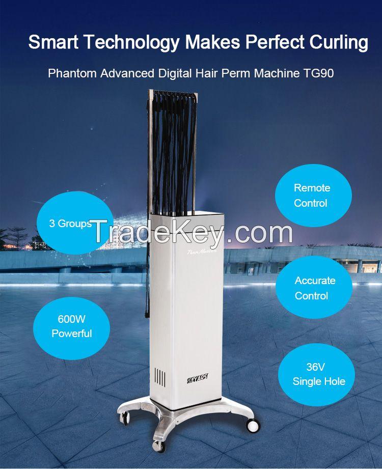 Digital Hair Perm Machine, Salon Machine, Advanced Version, Silver Color