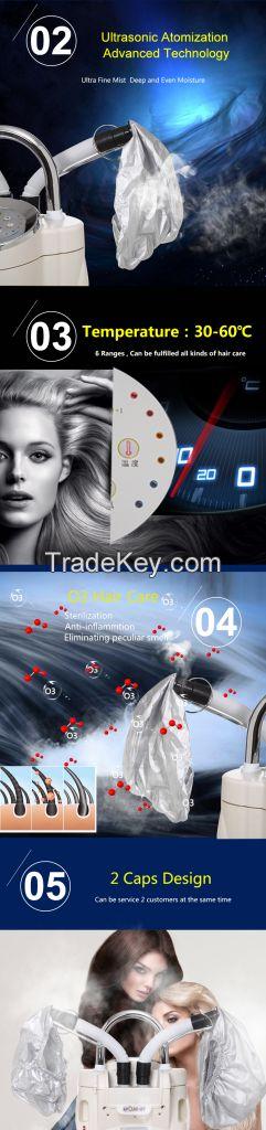 2 heads O3 Ozone Hair Care Machine Thermal Hair Treatment Machine