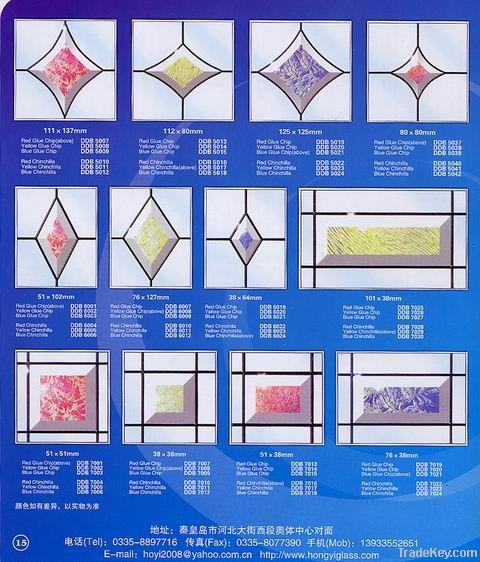 Beveled glass Tiles