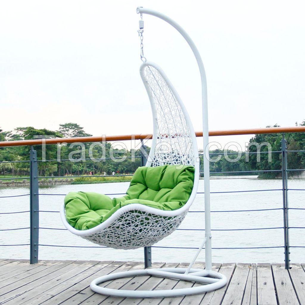 Steel Wicker rattan hanging chair