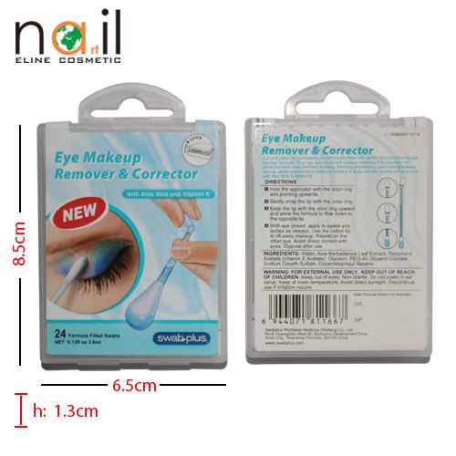 2014 hot sale make up remover cotton buds