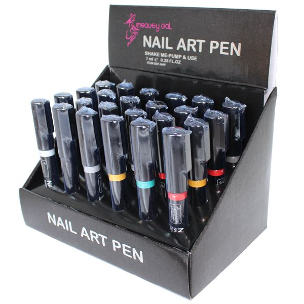 new nail art pen with 16 colors from professional manufacturer