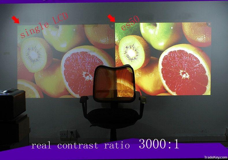 ZECO ES50 Full HD projector 3d mini projector business home wedding pr