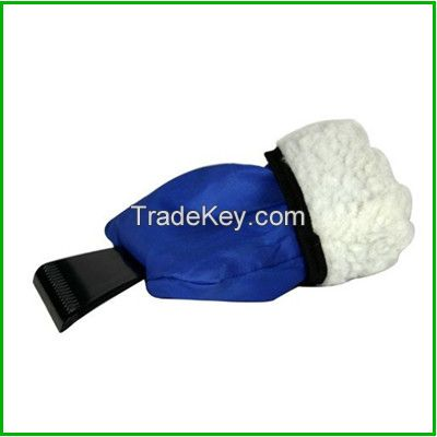 Hot In Russia Mini Car Snow Scraper, Ice Scraper With Glove, snow brush, Car Scraper