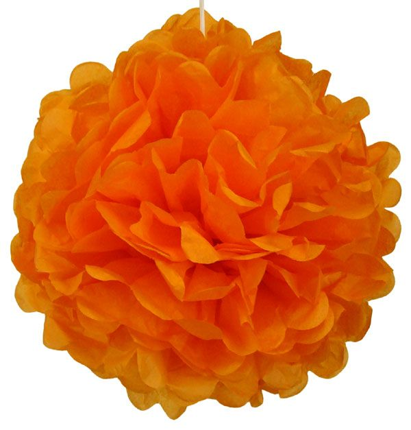 Tissue Paper Pom Poms Flowers Balls 14inch 8 Assorted Color