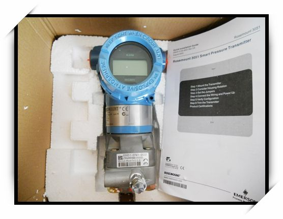 High accuracy Rosemount 3051C differential pressure transmitter price