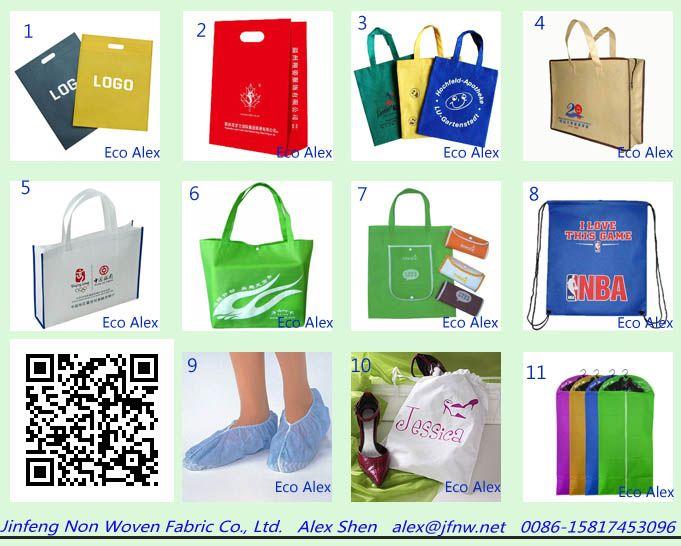 Dongguan non woven bags factory from Eco Alex