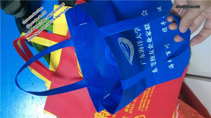 Non woven shopping bag non woven bag, customized logo non-woven bag
