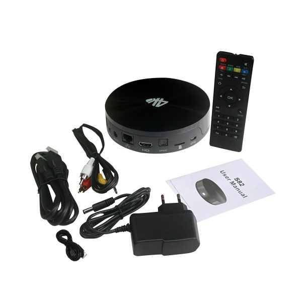 Android-based TV Box with AML Cortex A9, 2GB DDR3 and 16GB NAND Flash
