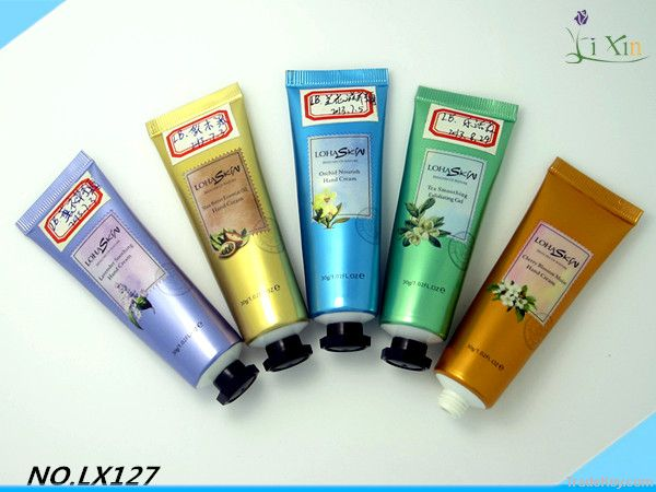 Plastic tube for cosmetics packaging cheap cylinder clear plastic tube
