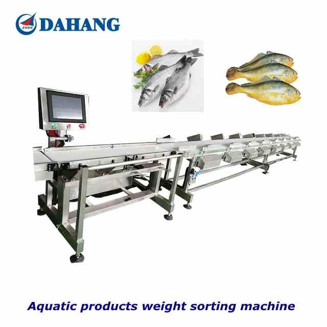 Aquactic products/Fish/Scallop meat / Frozen Fillets weighing grading machine