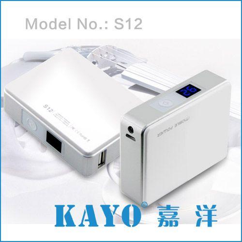 Kayo portable power bank 5200mAh for smartphone and tablet PC