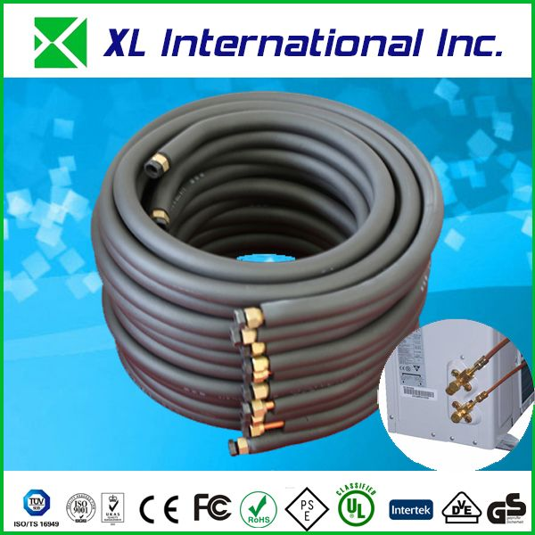 PVC coated copper aluminum pipe for air condition
