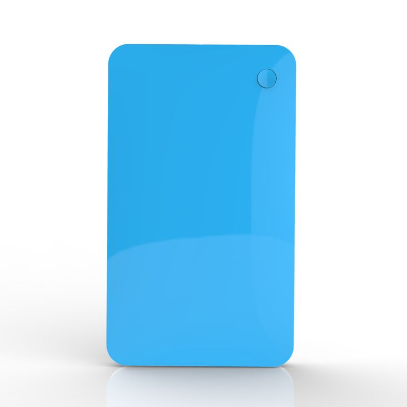 Private slim polymer power bank,battery charger 6000mAh capacity