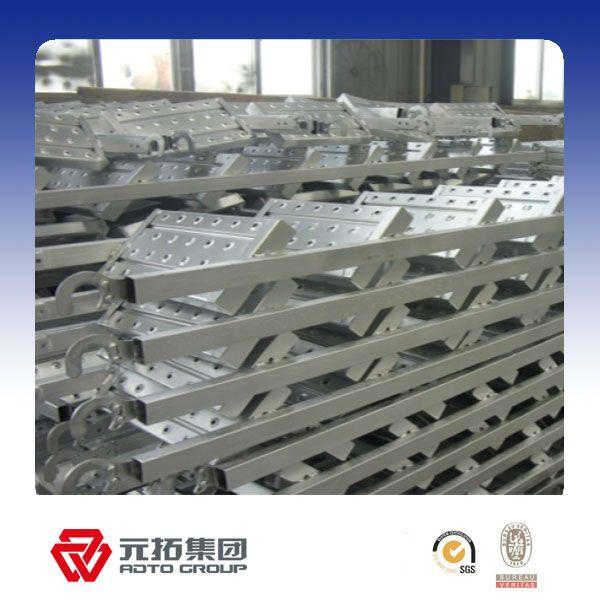 Scaffolding steel plank