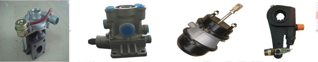 Truck and Trailer parts , Brake chamber , slack adjuster , brake cylinder
