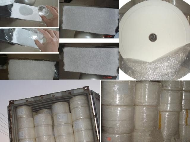 Jumbo roll airlaid paper for sanitary napkins factories