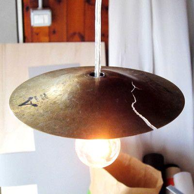 Cymbals Lampshade by Leonardo Criolani