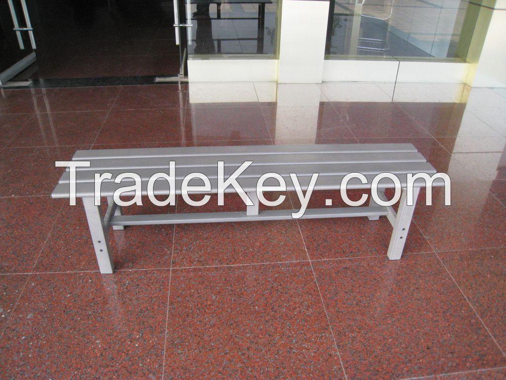 Aluminium outdoor bench seat MS150G