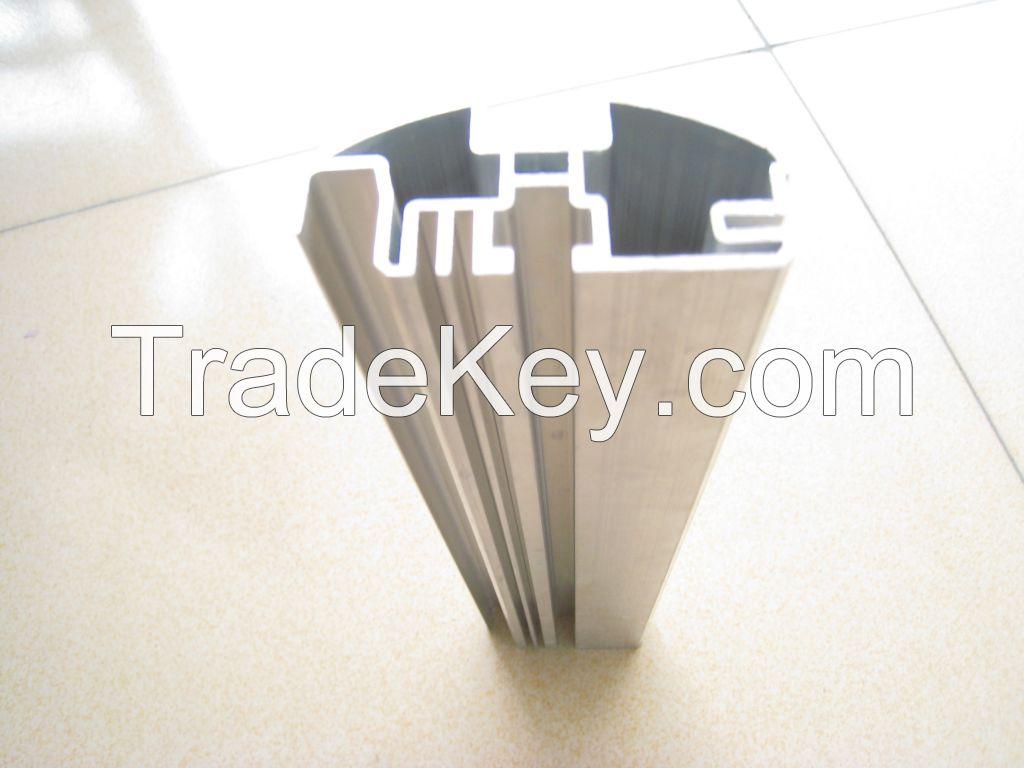 Aluminium profile anodized sandblast