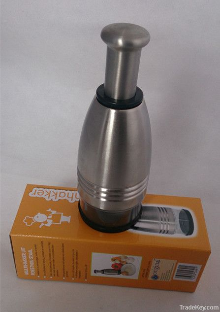 stainless steel onion chopper