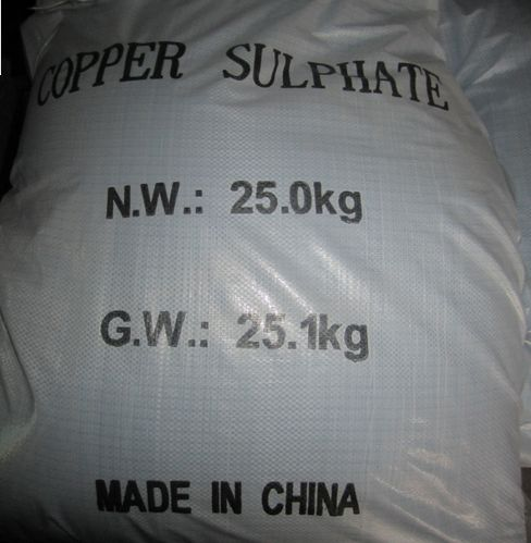 Leading Manufacture Supply Copper Sulphate 98% with Best Price