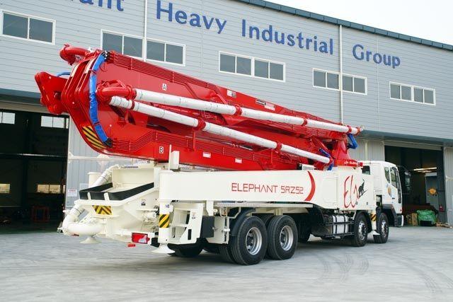 Boom concrete pump Elephant 52RZ5