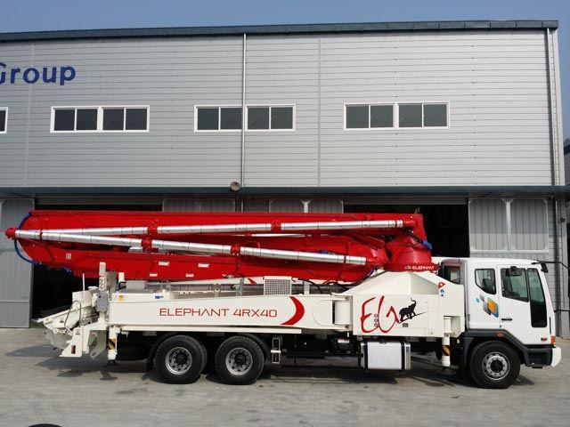Concrete Boom Pump 4R40