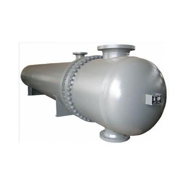 floating shell and tube heat exchanger
