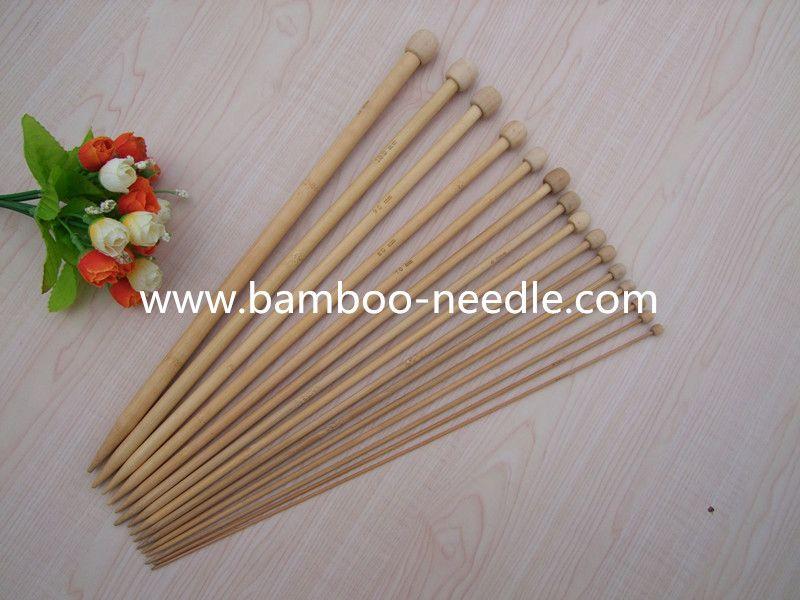 bamboo knitting needles, single point needle, knitting tools, crochet hook
