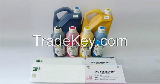 solvent ink and eco solvent ink