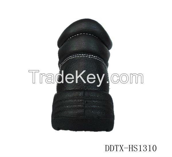 2014 fashion genuine leather PU sole safety shoes