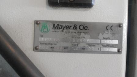 Mayer Plush Terry Circular knitting machine