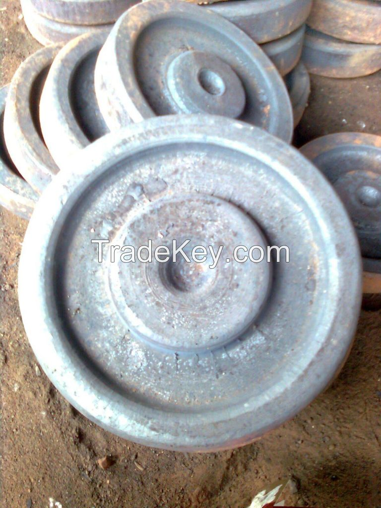 High Quality Competitive Free Forging Parts Flanged Shaft for Mining Equipment