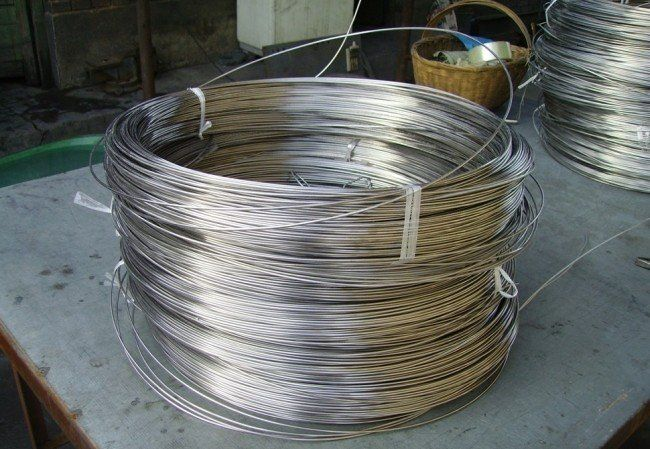 pure Titanium Wire with certificate ISO, SGS for best price