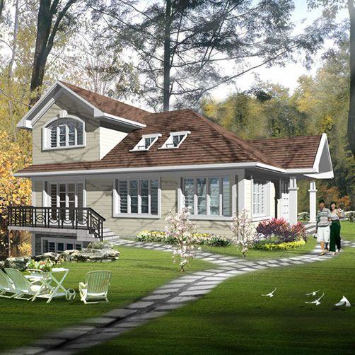steel frame/ light steel villas/ steel structure warehouse/portable building