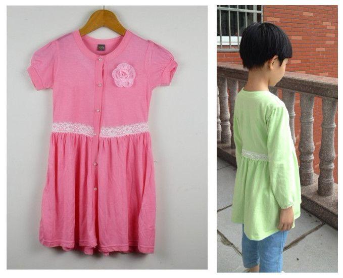 Girl's summer dress baby clothing