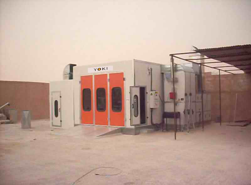 Sell  YK-200  economical baking spray paint car assessories booth for Asia and Africa market