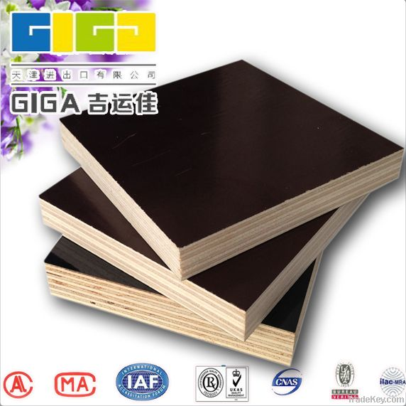 high quality film faced plywood with competive price