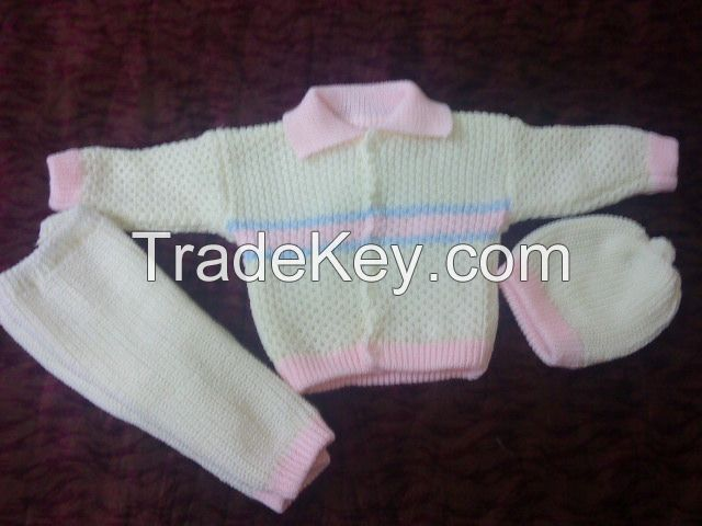 Babies sweater suits