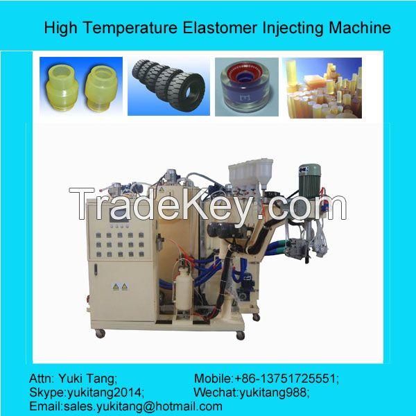 China Supplier High Temperature Elastomer Injecting Machine