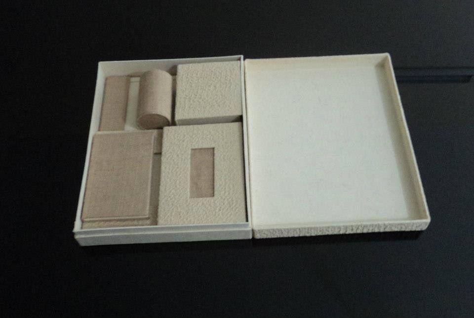 Jute Paper Gift box Set