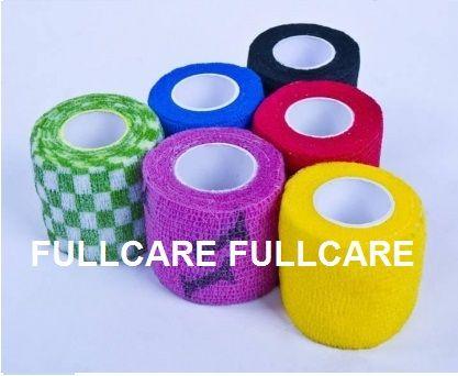 Latex or Latex Free Cotton-Nonwoven Cohesive Elastic Bandage