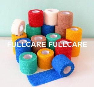 Latex or Latex Free Nonwoven Cohesive Elastic Bandage