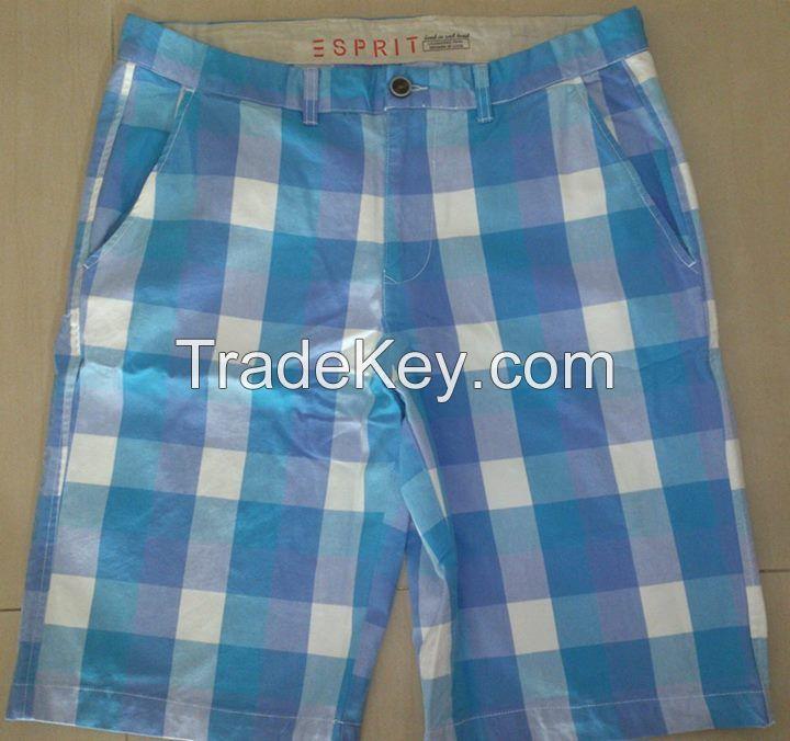Men's Check Short