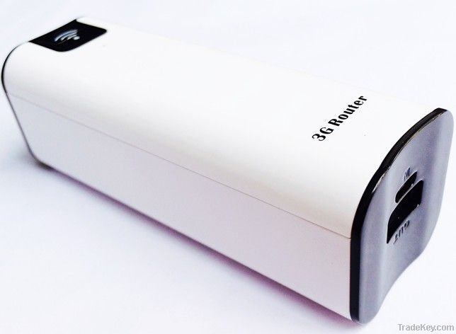 Power bank 3G wifi router create 10 users stable hotspot