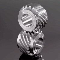 Helical Gears, milled or ground profile helical gears