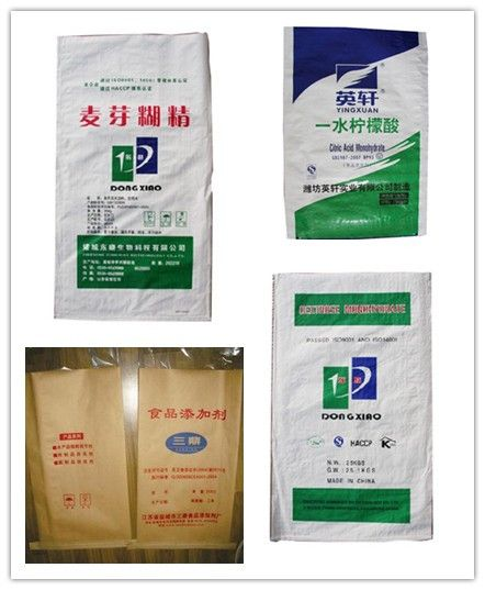 high quality and competitive price long life packaging flour rice paper-plastic bag
