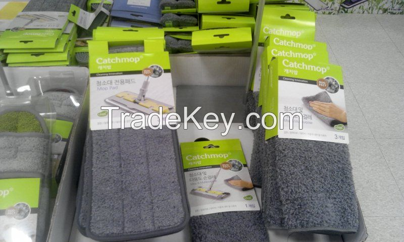 Microfiber Cleaning Cloth and Equipments