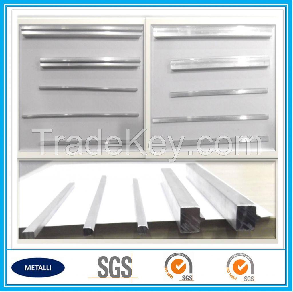 Heat exchanger aluminum sealing bar